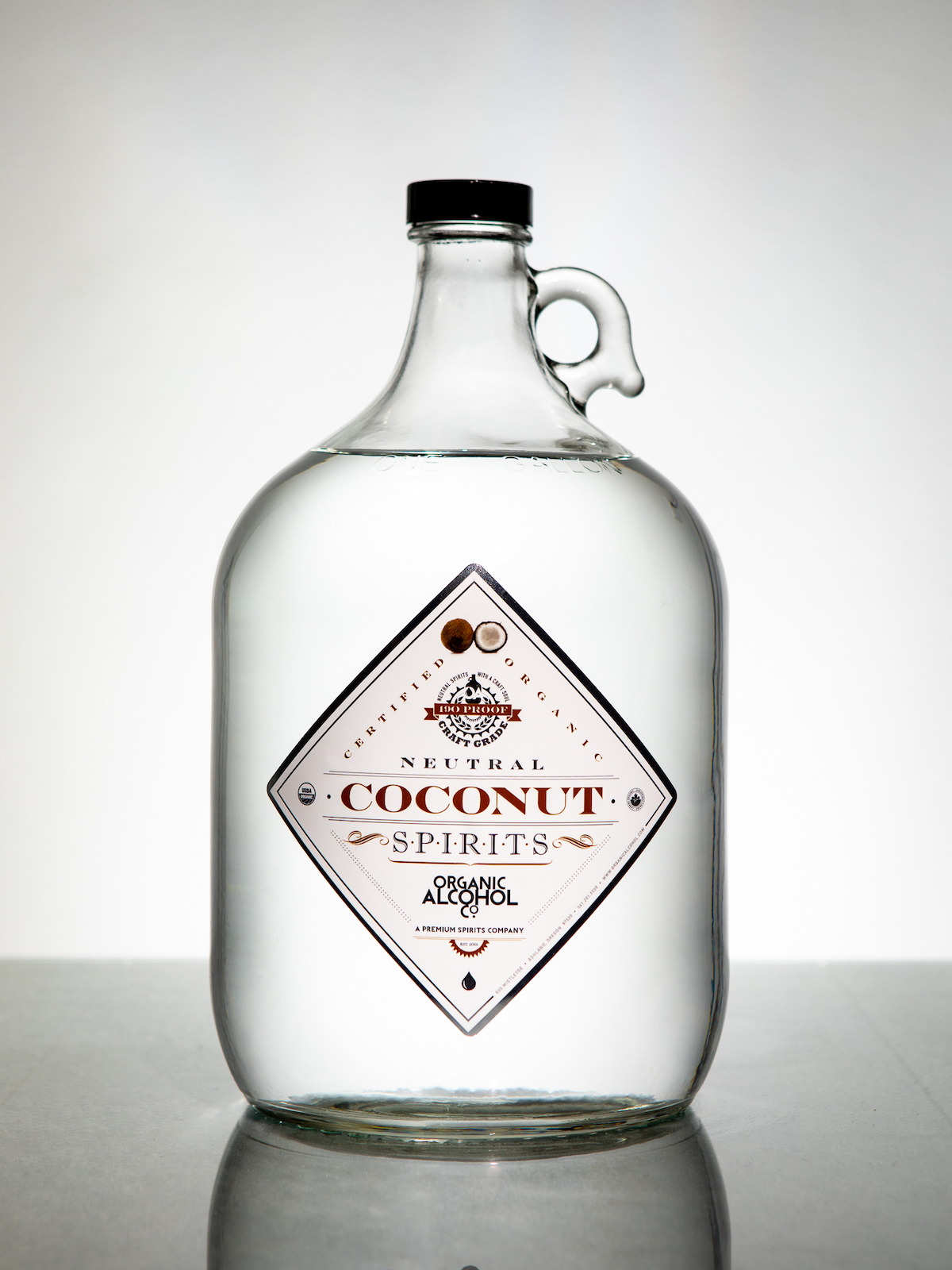 Organic Coconut Alcohol - Certified Organic Coconut Alcohol