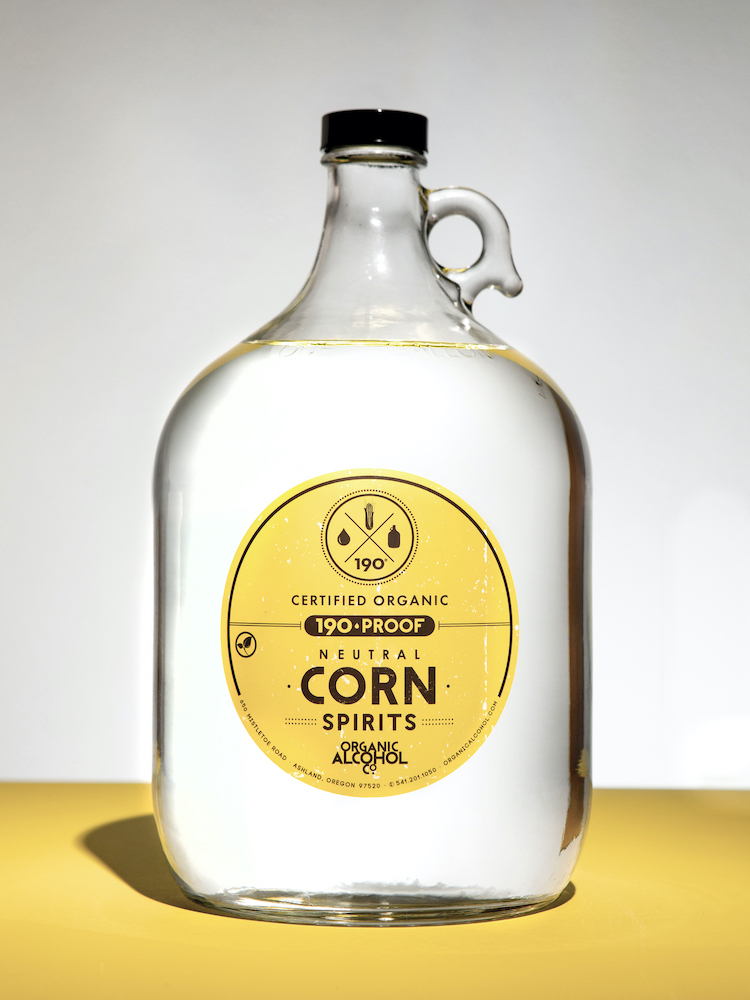 Organic Corn Alcohol - Certified Organic Corn Alcohol