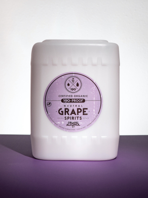 Organic Grape Alcohol - Certified Organic Grape Alcohol