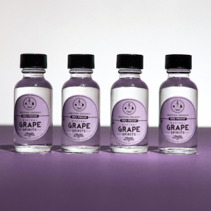 Certified Organic Grape Alcohol Samples